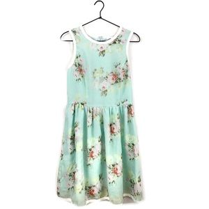 Piperlime Collection Floral Fit and Flare Dress
